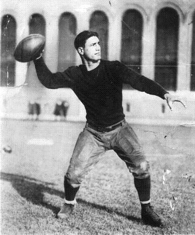Benny Friedman With the Detroit Wolverines