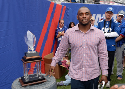 Ahmad Bradshaw - Photo Courtesy of Evan Pinkus and the Giants