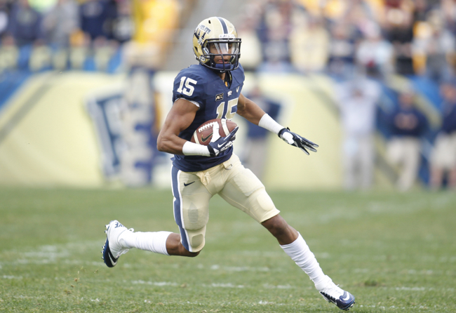 Devin Street, Pittsburgh Panthers (November 16, 2013)