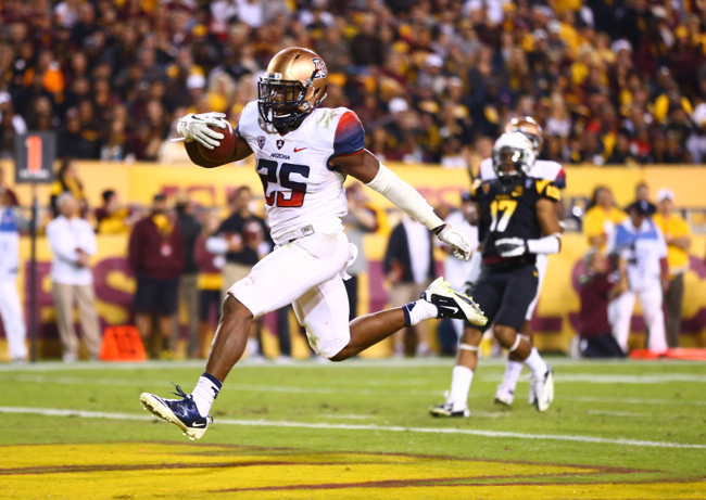 Ka'Deem Carey, Arizona Wildcats (November 30, 2013)