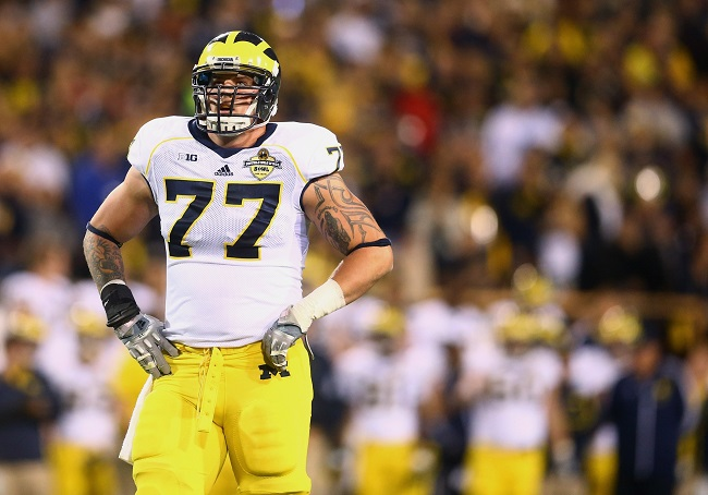 Taylor Lewan, University of Michigan (December 28 2013)