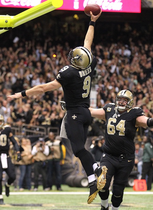 Drew Brees, New Orleans Saints (December 29, 2013)
