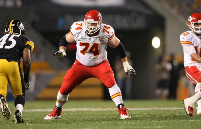 Geoff Schwartz, Kansas City Chiefs (August 24, 2013)