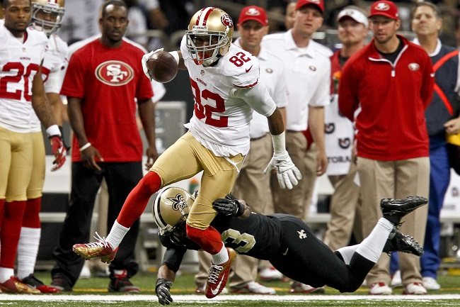 Mario Manningham, San Francisco 49ers (November 25, 2012)