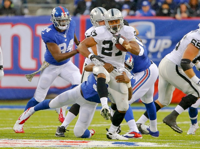 Rashad Jennings, Oakland Raiders (November 10, 2013)