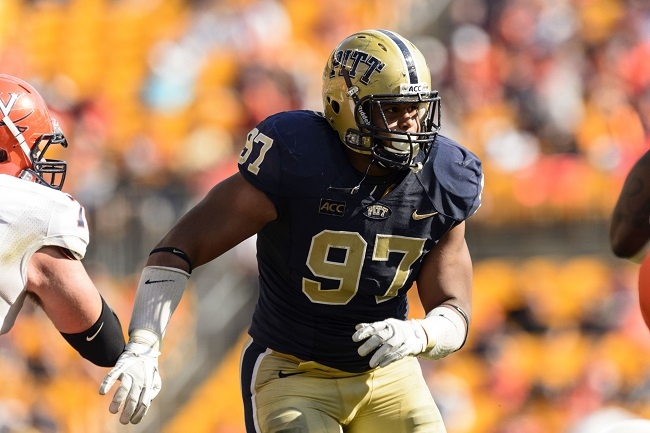 Aaron Donald, Pittsburgh Panthers (September 28, 2013)