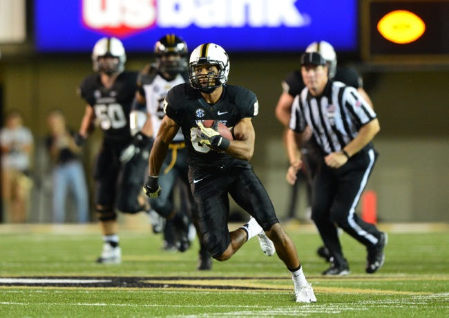Jordan Matthews, Vanderbilt Commodores (October 5, 2013)