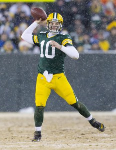 Matt Flynn, Green Bay Packers (December 22, 2013)