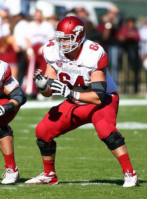 Travis Swanon, Arkansas Razorbacks (November 17, 2012)
