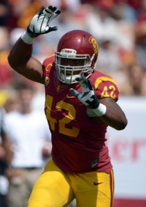 Devon Kennard, USC Trojans (September 21, 2013)