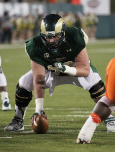 Weston Richburg, Colorado State Rams (November 2, 2013)