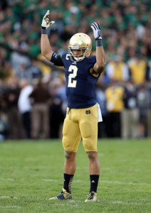 Bennett Jackson, Notre Dame Fighting Irish (September 21, 2014)