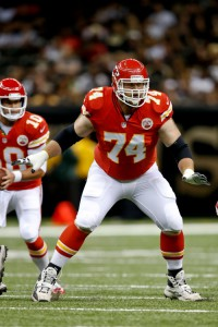 Geoff Schwartz, Kansas City Chiefs (August 9, 2013)