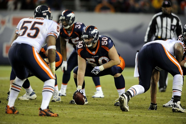 J.D. Walton, Denver Broncos (December 11, 2011)