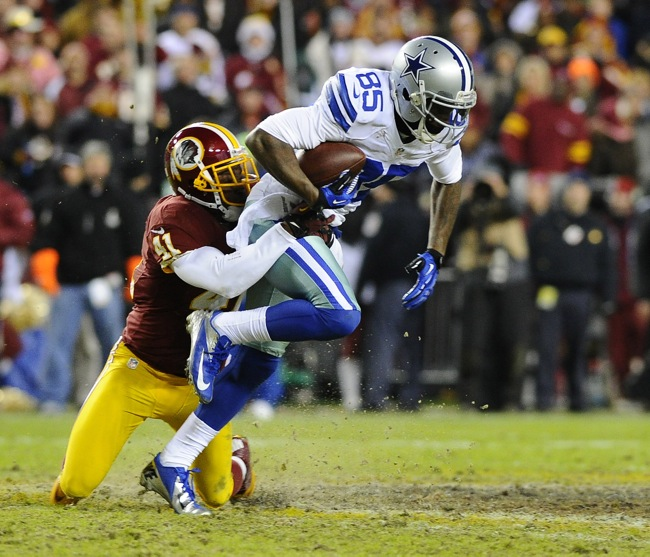 Kevin Ogletree, Dallas Cowboys (December 30, 2012)