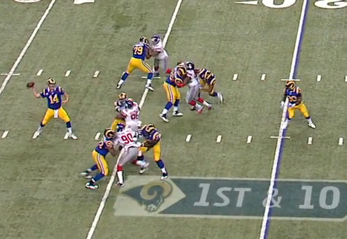 A very clean pocket for Shaun Hill.