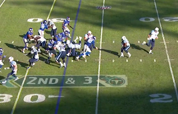 JPP blows up running play.