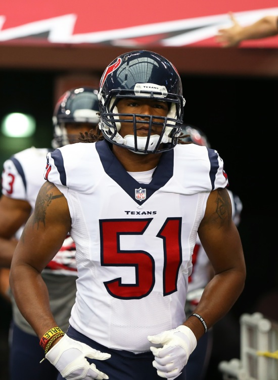 Paul Hazel, Houston Texans (August 9, 2014)