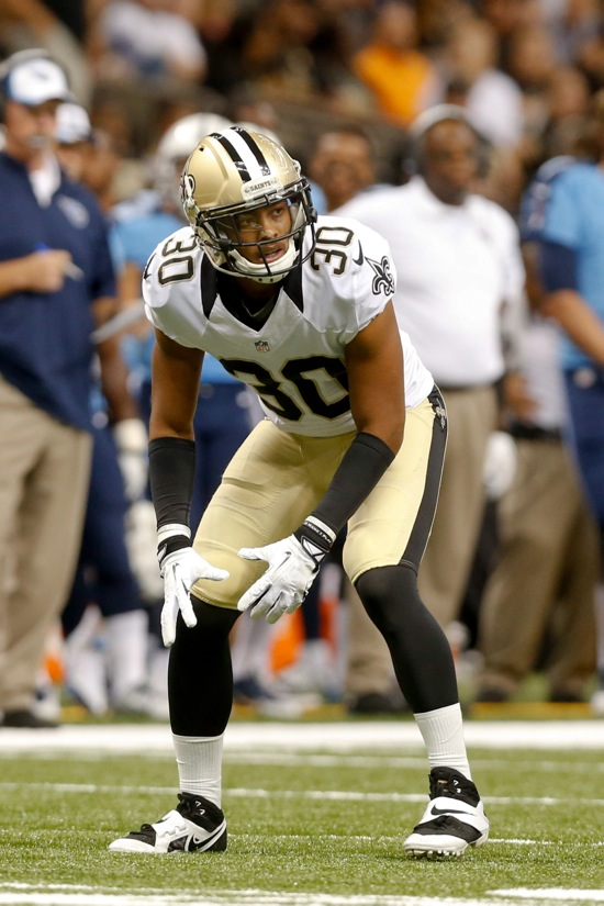 Trevin Wade, New Orleans Saints (August 15, 2014)
