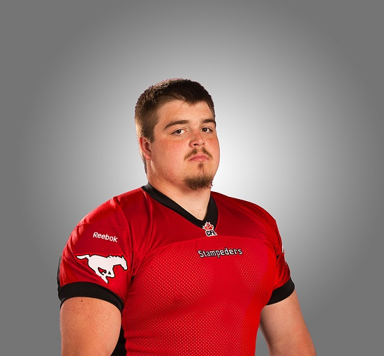 Brett Jones, Calgary Stampeders (June 26, 2014)