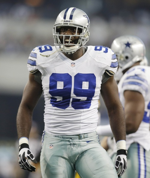 George Selvie, Dallas Cowboys (December 15, 2013)
