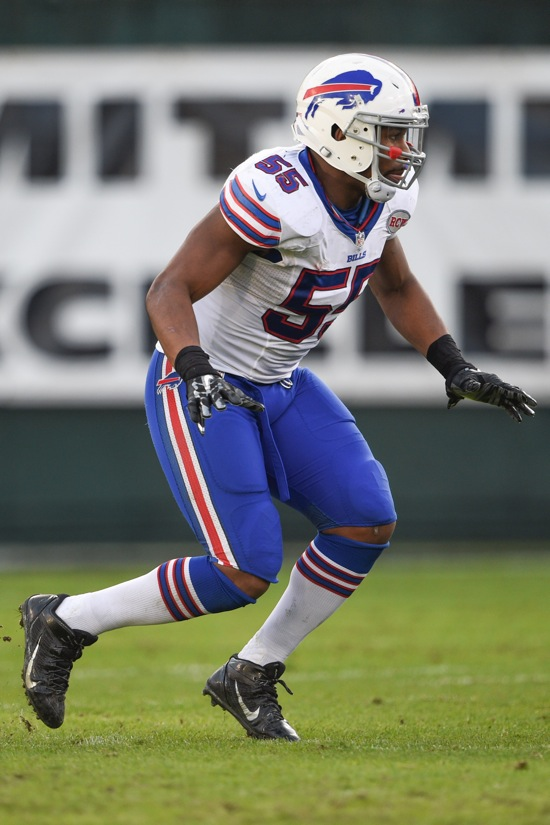Jerry Hughes, Buffalo Bills (December 21, 2014)