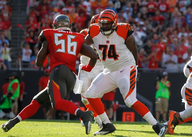 Marshall Newhouse, Cincinnati Bengals (November 30, 2014)