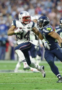 Shane Vereen, New England Patriots (February 1, 2015)