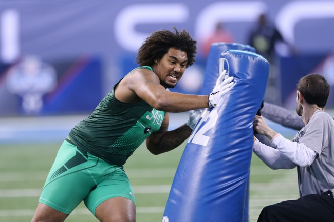 Leonard Williams, USC Trojans (February 22, 2015)