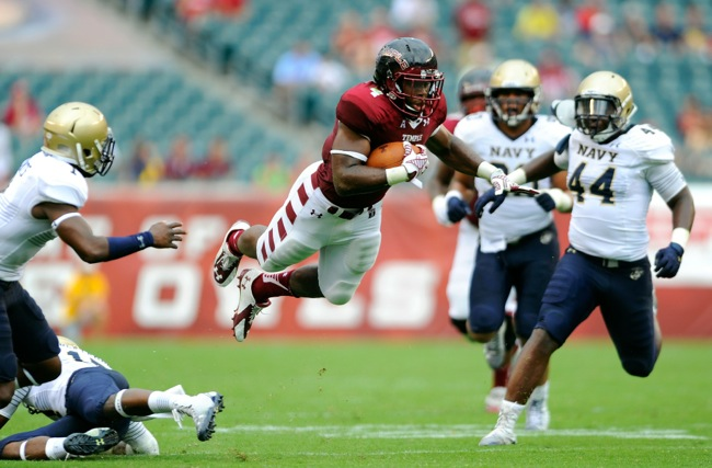 Kenneth Harper, Temple Owls (September 6, 2014)