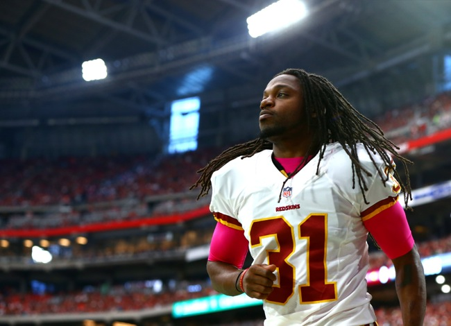 Brandon Meriweather, Washington Redskins (October 12, 2014)