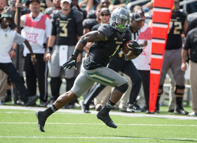 Corey Coleman, Baylor Bears (October 17, 2015)
