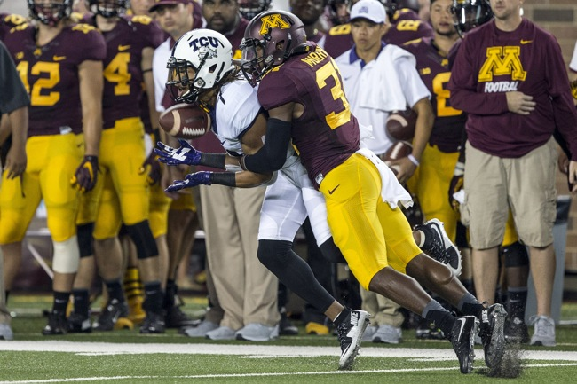 Eric Murray, Minnesota Golden Gophers (September 3, 2015)
