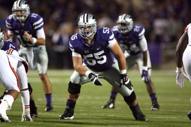 Cody Whitehair, Kansas State Wildcats (September 18, 2014)