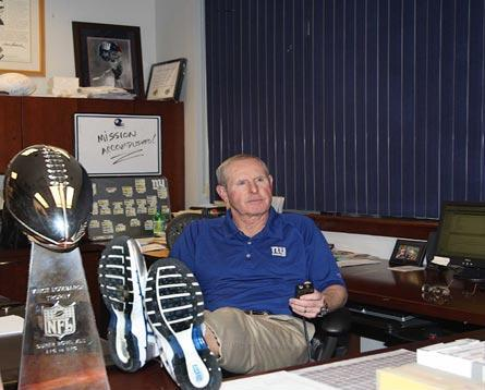 Tom Coughlin, New York Giants (February 2008)