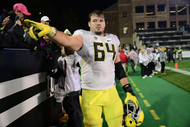 Tyler Johnstone, Oregon Ducks (October 3, 2015)