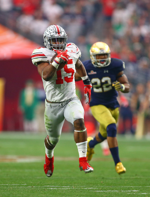 Ezekiel Elliott, Ohio State Buckeyes (January 1, 2016)
