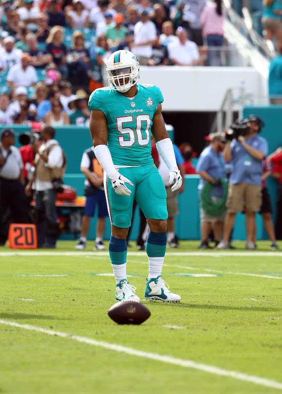 Olivier Vernon, Miami Dolphins (January 3, 2016)