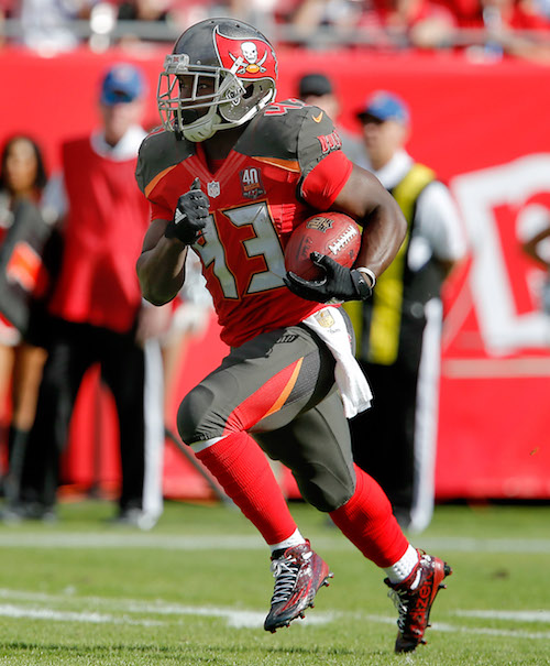 Bobby Rainey, Tampa Bay Buccaneers (December 13, 2015)