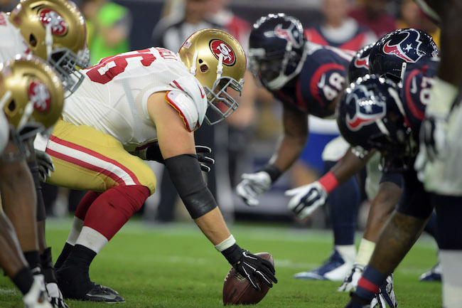Dillon Farrell, San Francisco 49ers (August 15, 2015)