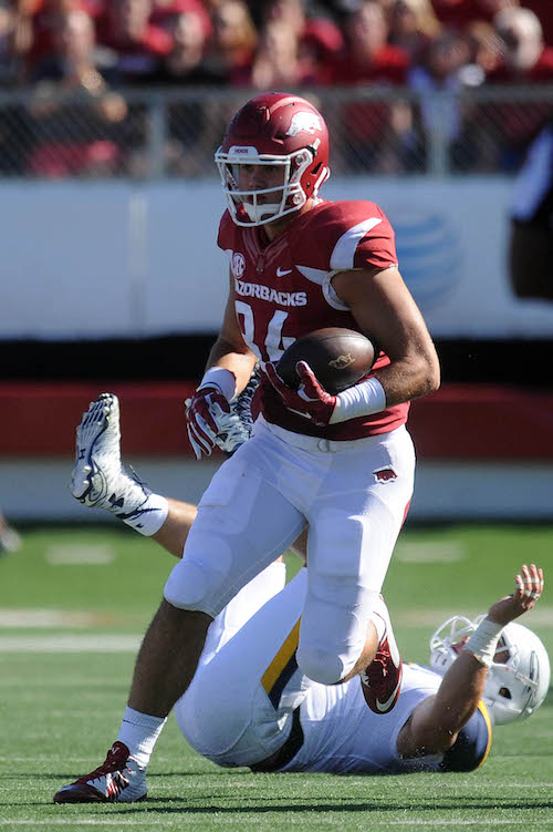 Hunter Henry, Arkansas Razorbacks (September 12, 2015)