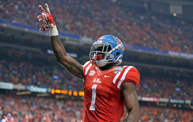 Laquon Treadwell, Mississippi Rebels (January 1, 2016)