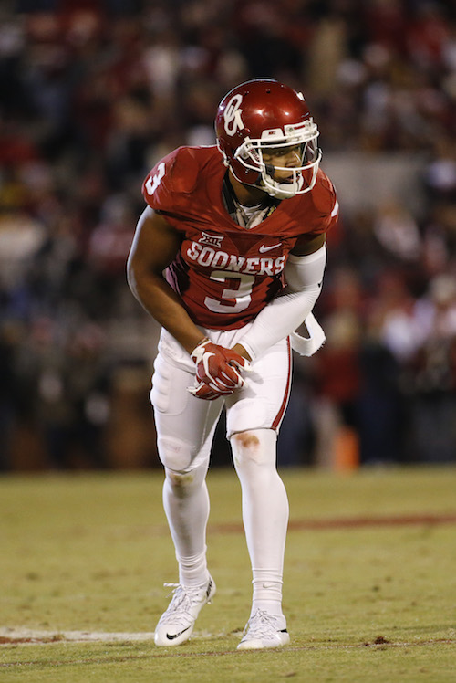 Sterling Shepard, Oklahoma Sooners (November 21, 2015)
