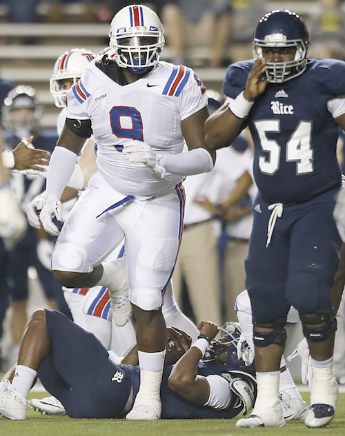 Vernon Butler, Louisiana Tech Bulldogs (October 30, 2015)