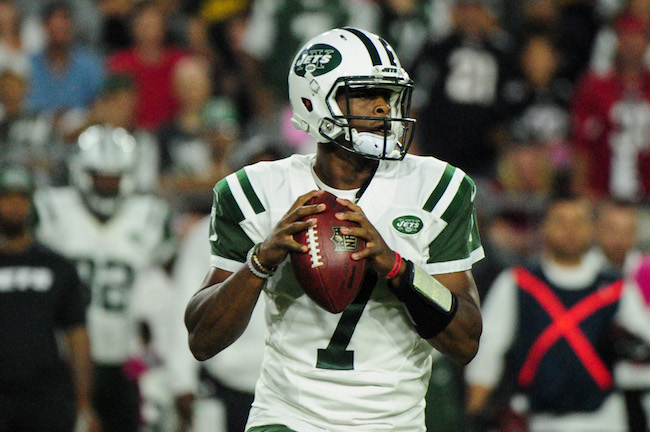 Geno Smith, New York Jets (October 17, 2016)