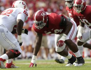 Dalvin Tomlinson, Alabama Crimson Tide (September 10, 2016)