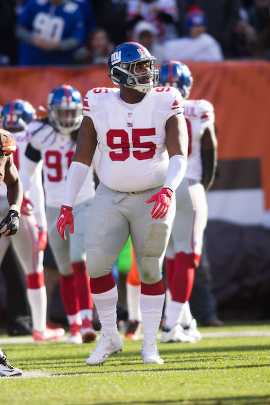 Johnathan Hankins, New York Giants (November 27, 2016)