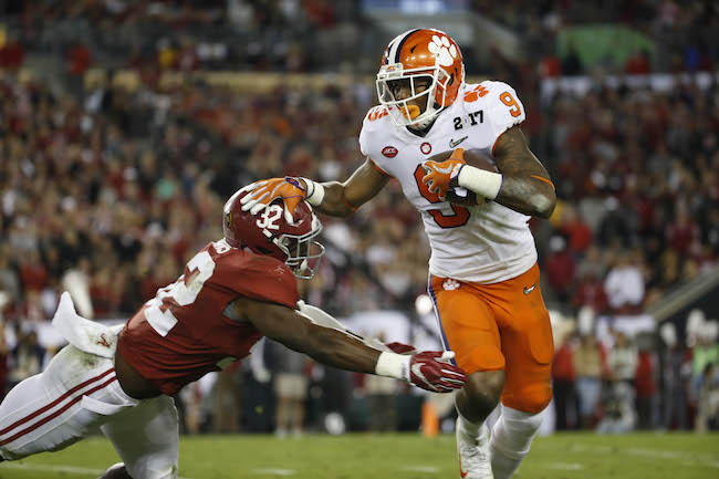 Wayne Gallman, Clemson Tigers (January 9, 2017)