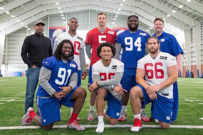 New York Giants 2017 Rookie Class (May 12, 2017)