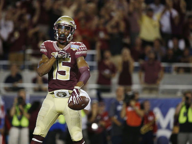 Travis Rudolph, Florida State Seminoles (September 5, 2016)